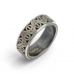 Official Harry Potter Sterling Silver Deathly Hallows Ring Small (Size K)- RR0054-S