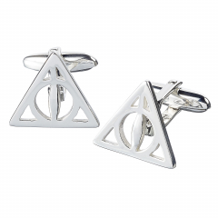Harry Potter Sterling Silver Deathly Hallows Cufflinks CC0054