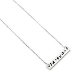 Official Friends the TV Series Logo Bar Necklace FTN0001