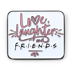 Official Friends The TV Series Love, Laughter & Friends Pin Badge FTPB0007
