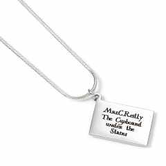 Harry Potter Stainless Steel Personalised Hogwarts Letter Necklace - SSN0001