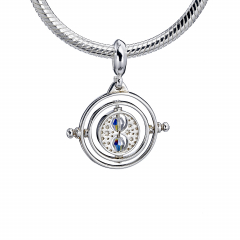 Harry Potter Sterling Silver Time Turner slider charm with Crystal Elements - HPSC021-SC