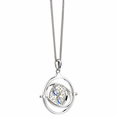 Harry Potter Embellished with Swarovski® Crystals Time Turner Necklace - HPSN021